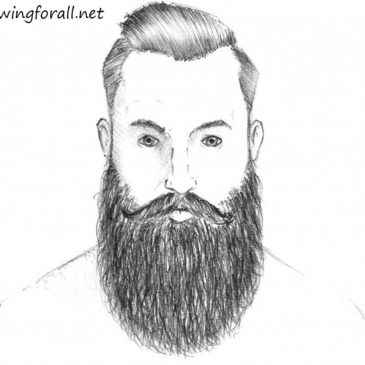 How to Draw a Beard