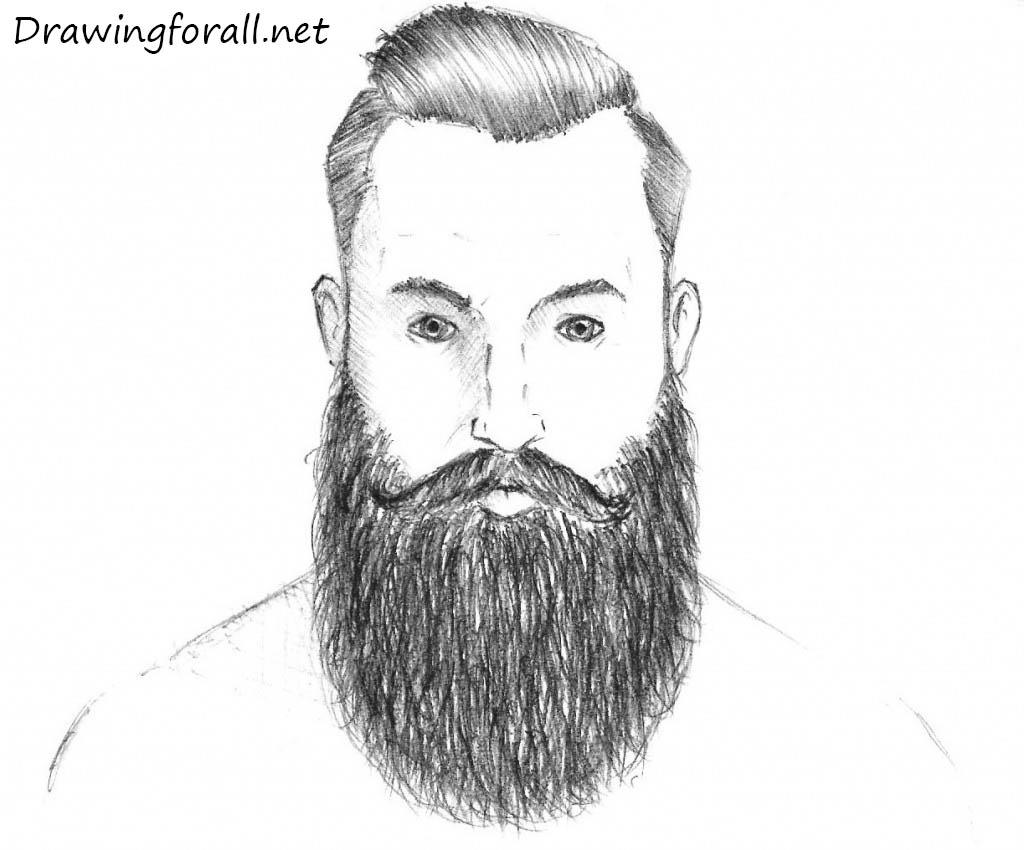 How to Draw a Beard