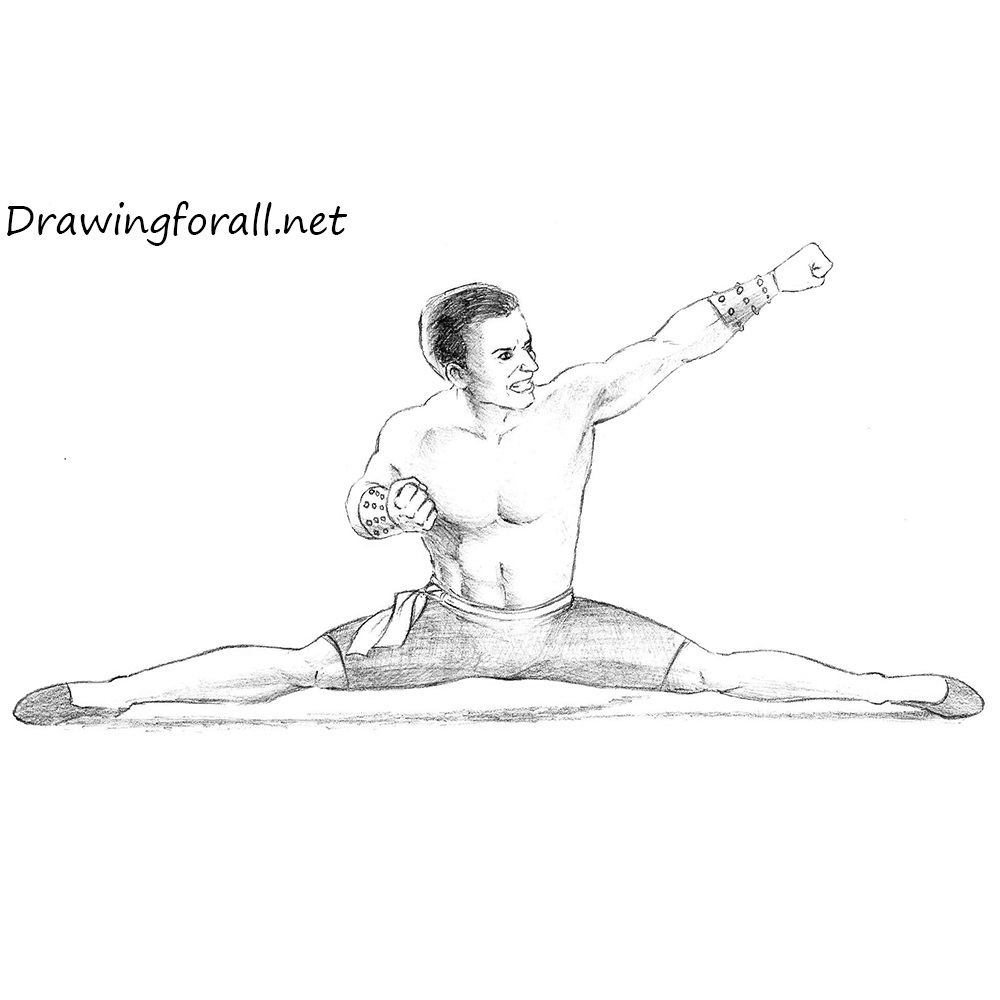 How to Draw Johnny Cage