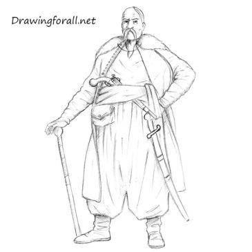 How to Draw a Cossack
