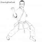 How to Draw a Karateka