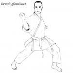 How to Draw a Karateka