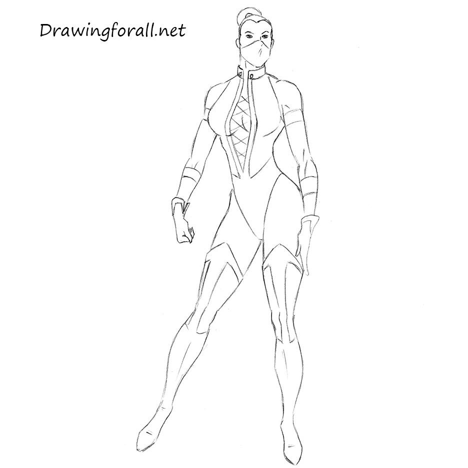 How to Draw Kitana