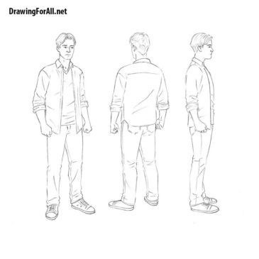 How to Draw a Man for Beginners