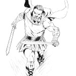 How to Draw a Roman Soldier Step by Step