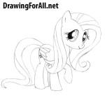 How to Draw Pony Fluttershy
