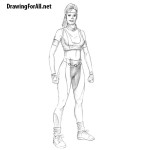 How to Draw Sonya Blade