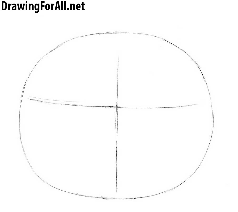 How To Draw A Halloween Pumpkin Diagram Of Head