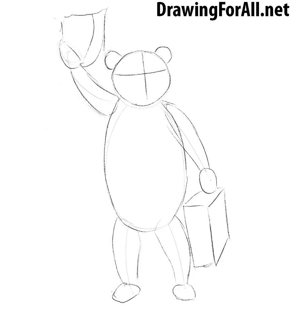 How To Draw Paddington Bear Drawingforall Net