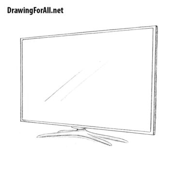 How to Draw a TV