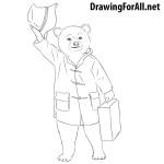 How to Draw Paddington Bear