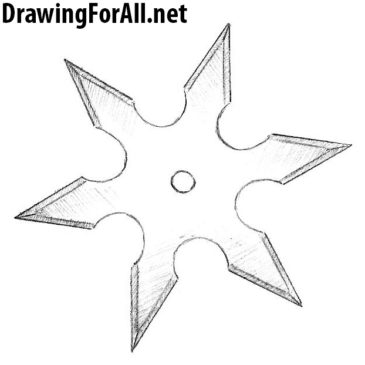 How to Draw a Ninja Star