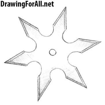 How to Draw a Ninja Star