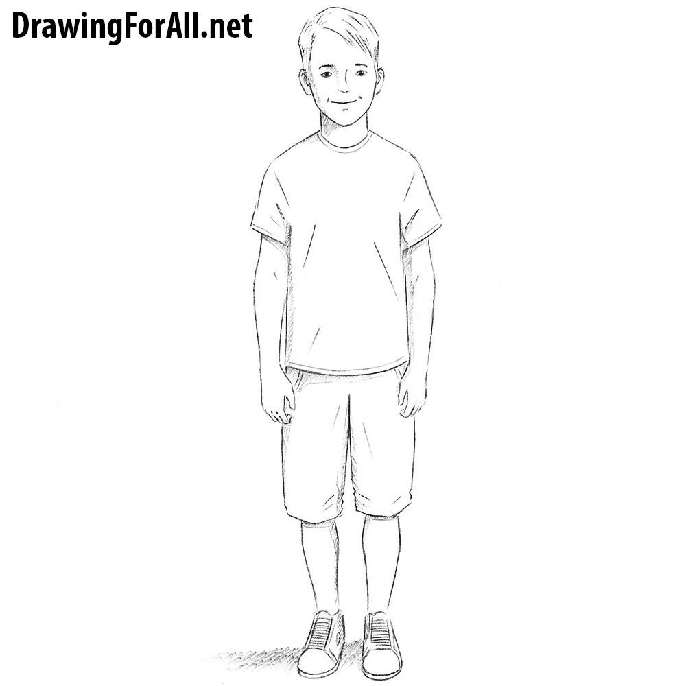 How to Draw a Boy