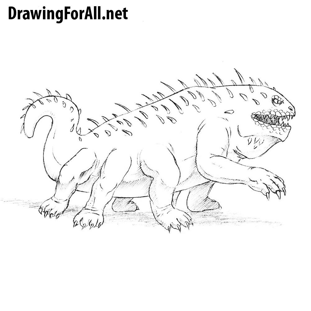 How to Draw a Basilisk