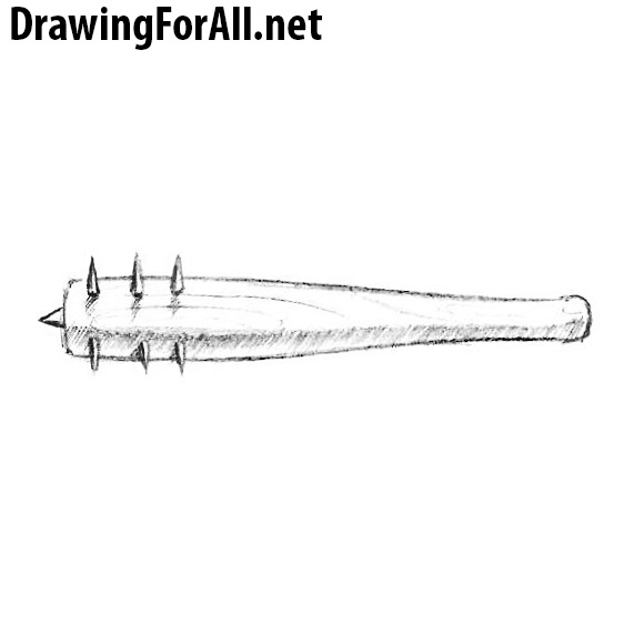 How to Draw a Spiked Club