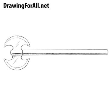 How to Draw a Double Axe