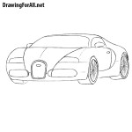 How to Draw a Bugatti