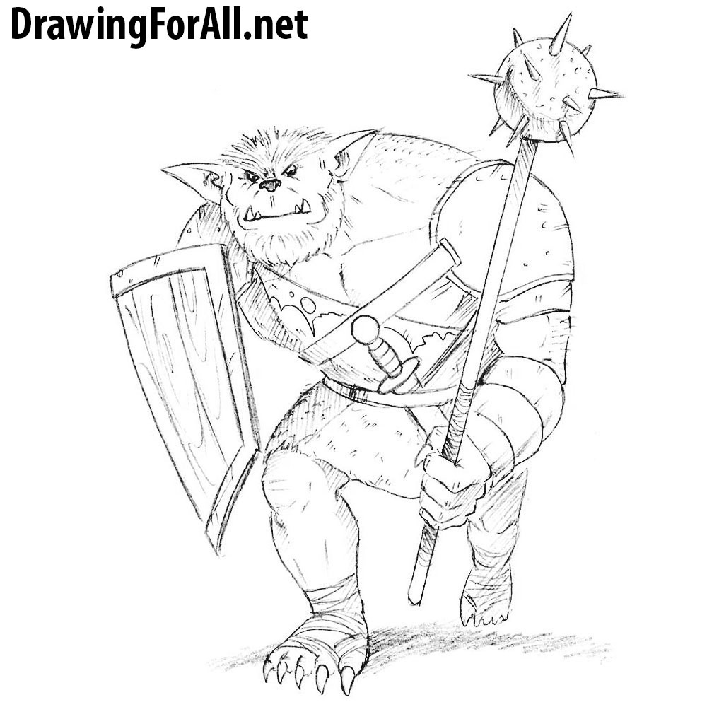 How to Draw a Bugbear