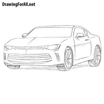 How to Draw a Chevrolet Camaro