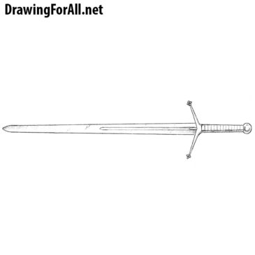 How to Draw a Claymore Sword