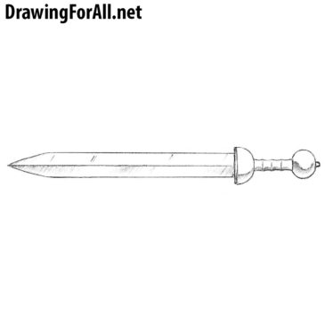 How to Draw a Gladius