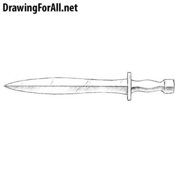 How to Draw a Xiphos