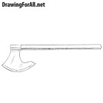 How to Draw a Battle Axe
