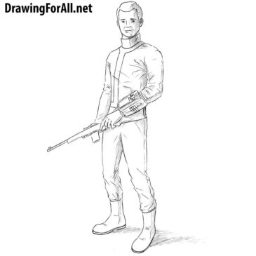 How to Draw the Vault Dweller