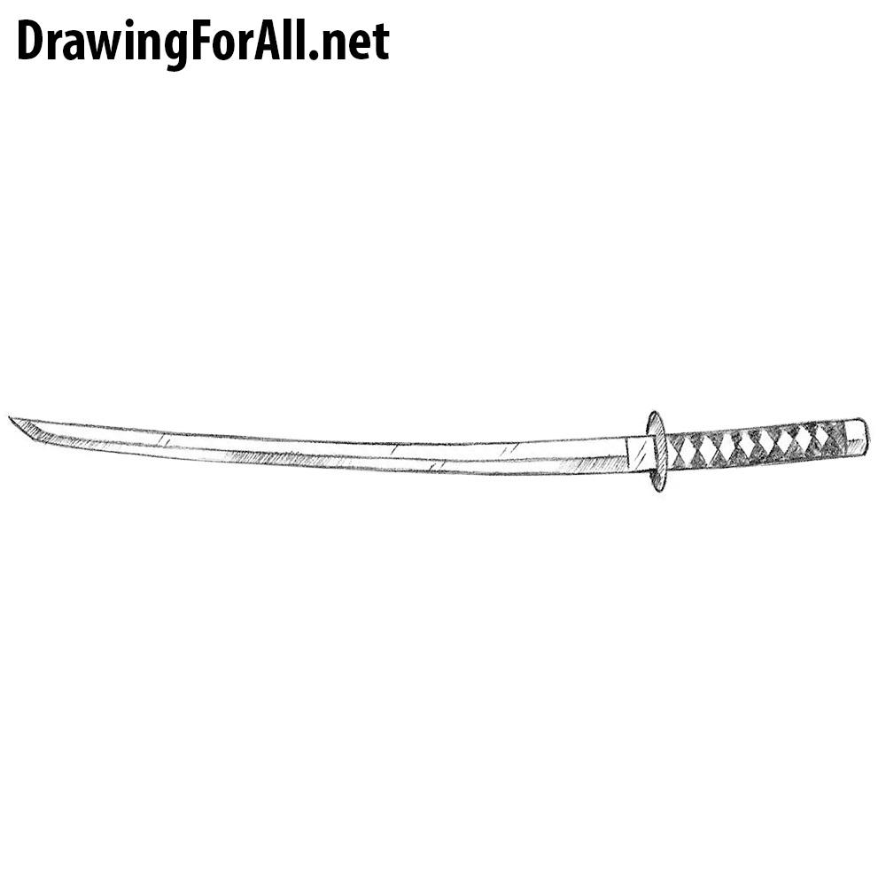 How to Draw a Wakizashi