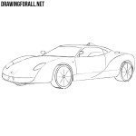 How to Draw a Spyker c12