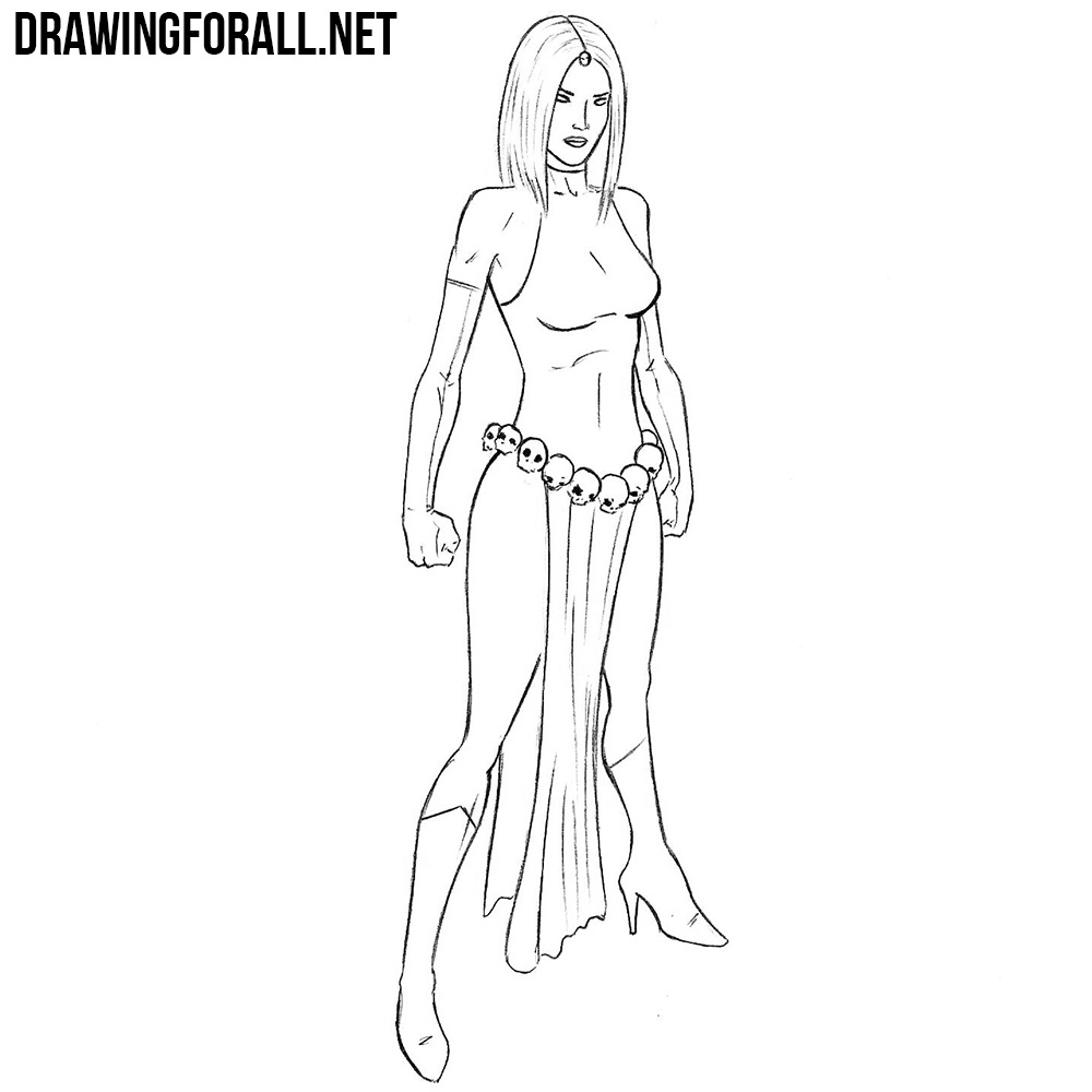 How To Draw Mystique Drawingforall Net