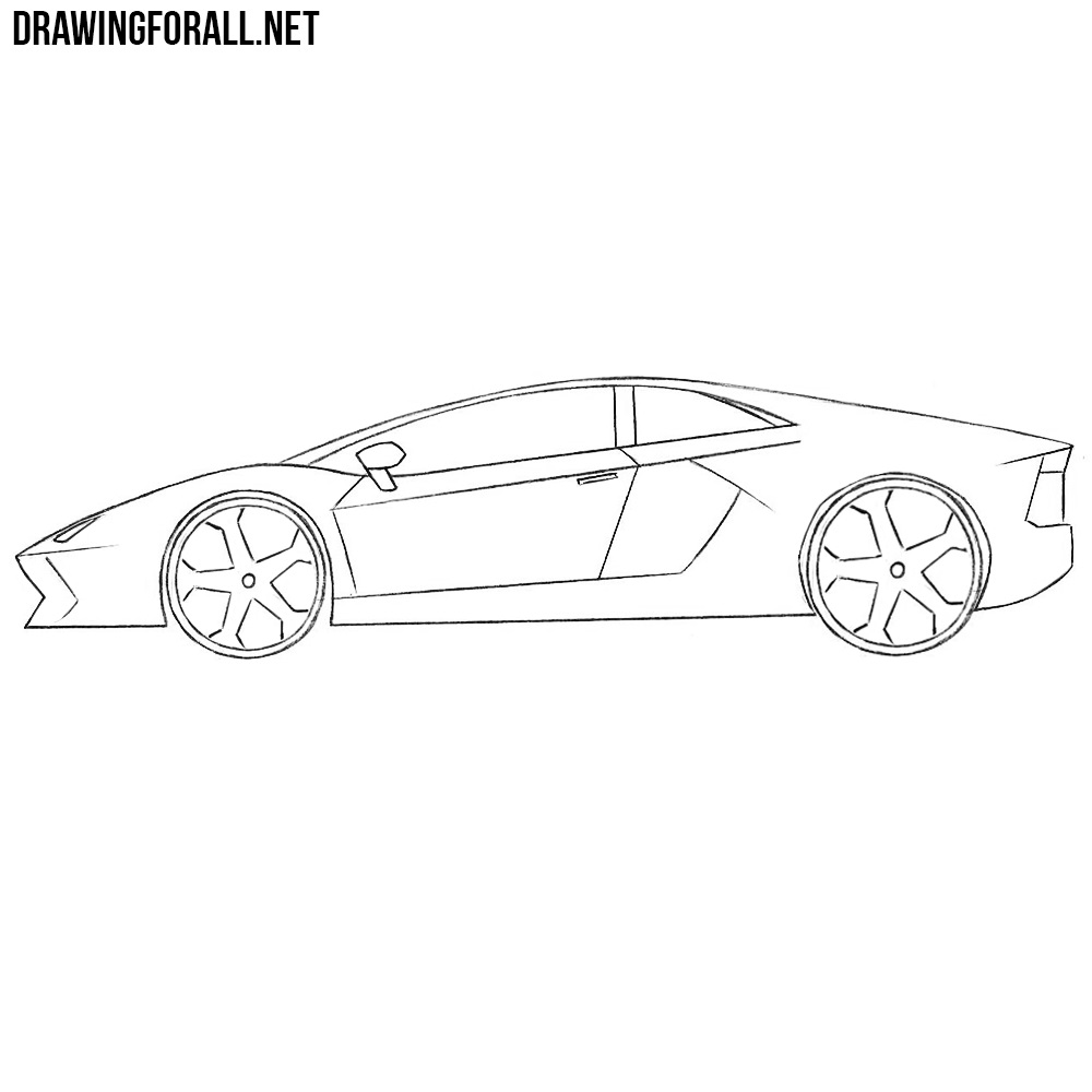 How Easy To Draw Sports Cars Drawingforall Net