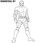 How to Draw Colossus from X-Men