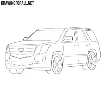 How to Draw a Cadillac Escalade