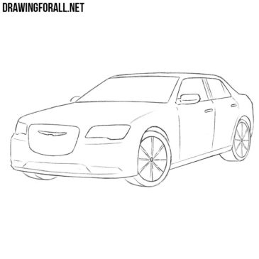 How to Draw a Chrysler 300c