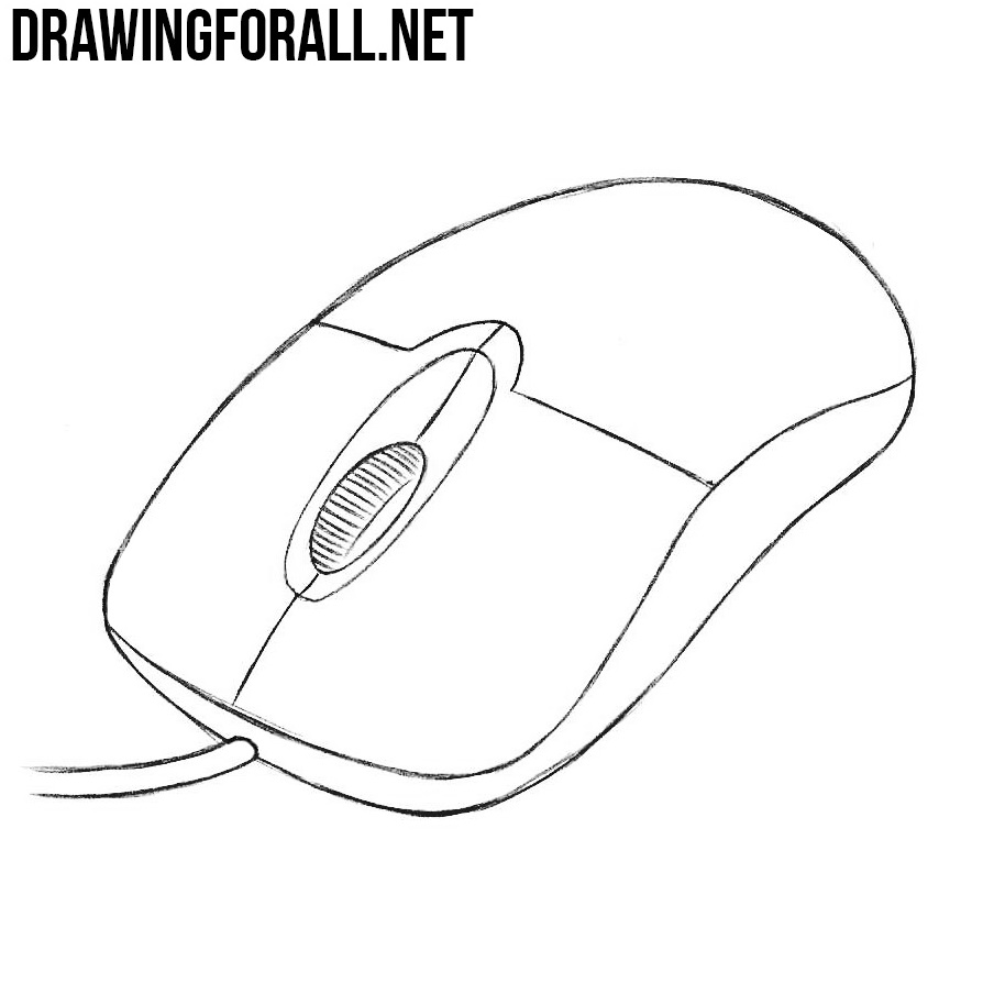 How to draw a computer mouse drawingforall net