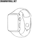 How to Draw an Apple Watch