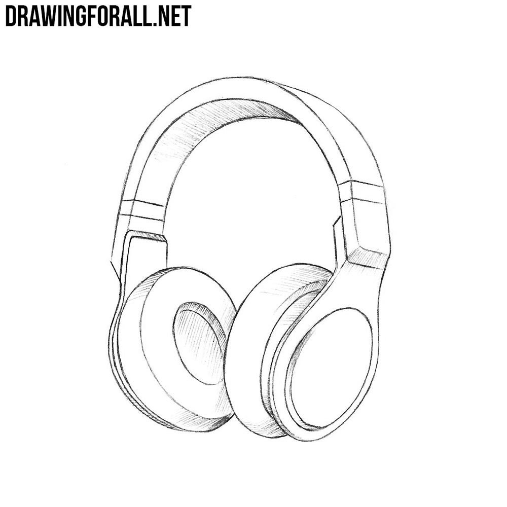 How to draw headphones drawingforall net