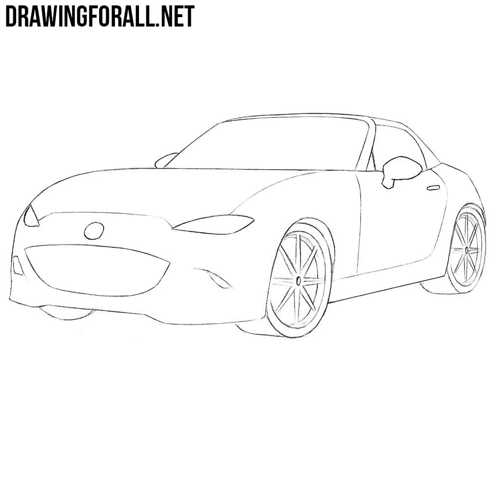 How to Draw a Miata