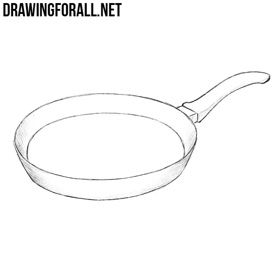 How To Draw A Pan Drawingforall Net