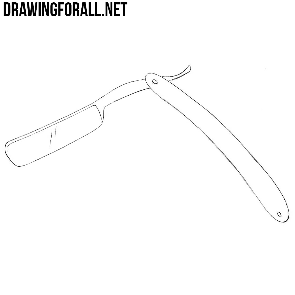 How to Draw a Straight Razor