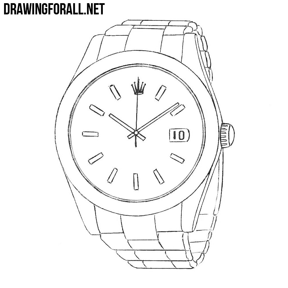 How to Draw a Rolex