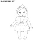 How to Draw a Doll