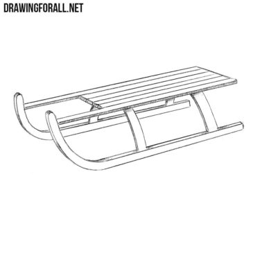 How to Draw a Sledge