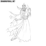 How to Draw a Lich