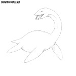 How to Draw the Loch Ness Monster