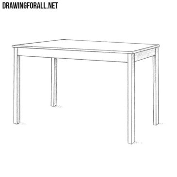 How to Draw a Table Step by Step