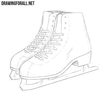 How to Draw Ice Skates