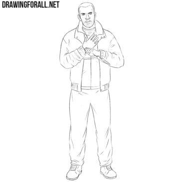 How to Draw Niko Bellic